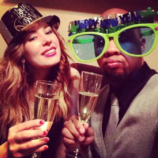 Cheers to completing all of our 2013 goals