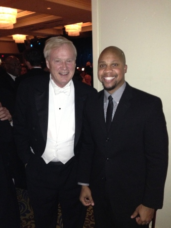 Chris Matthews at the Gridiron Club Dinner