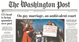 On the Cover of The Washington Post