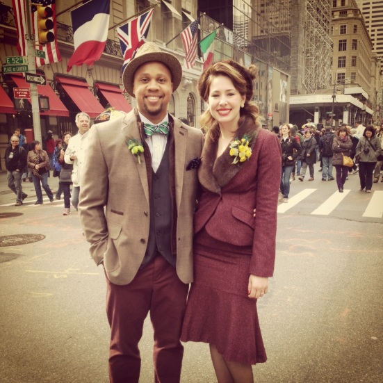 Retro looks at the Easter Parade