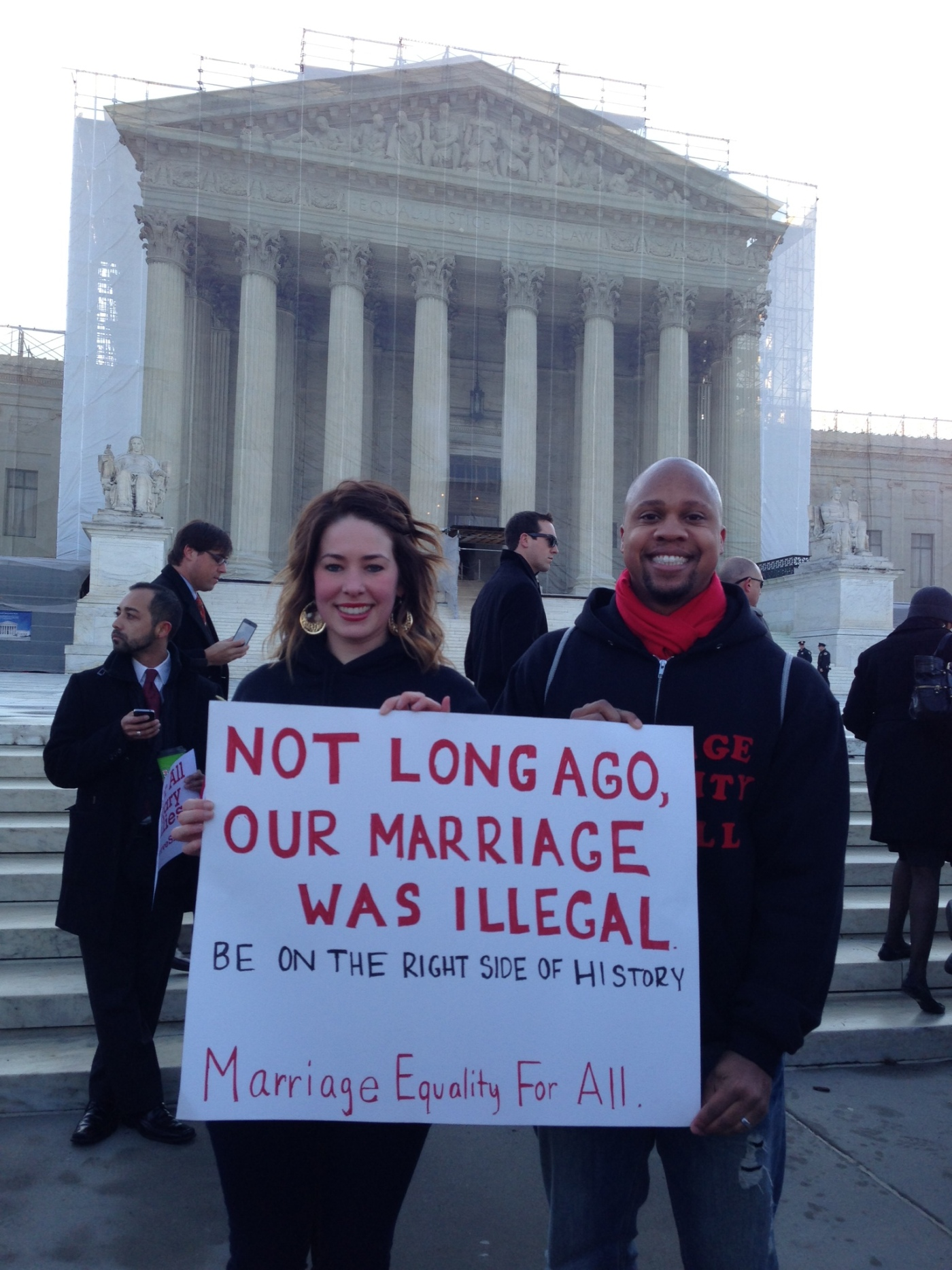 not long ago our marriage was illegal supreme court