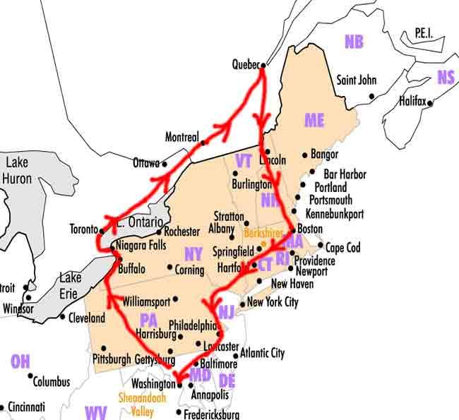 MAPNewEngland