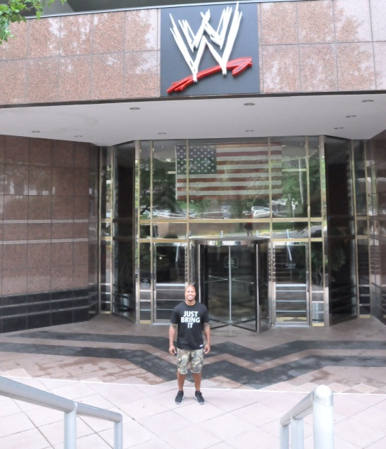A visit to wwe headquarters the great goal rush