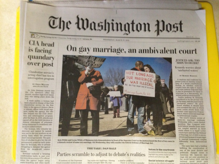 We were featured on the cover of the Washington Post (mic drop of the year)