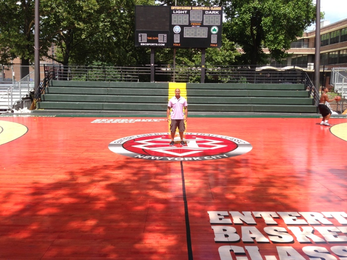 Rucker Park in Harlem