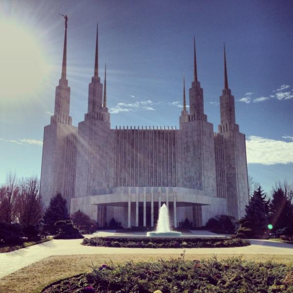 mormon temple dc