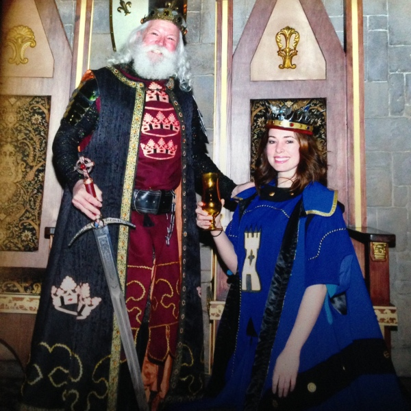 lyssa knighted medieval times maryland baltimore