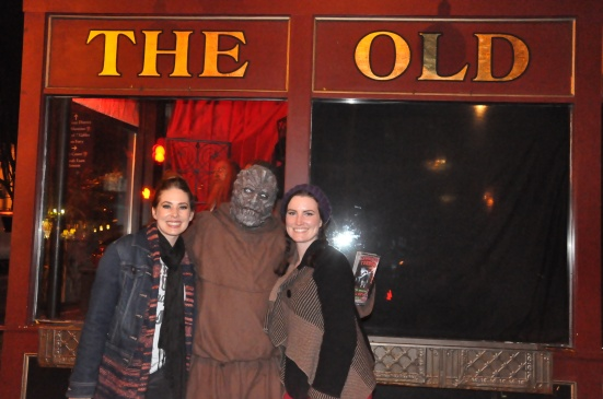 Just another Friday night in Salem in October