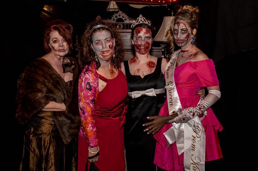zombie party halloween salem