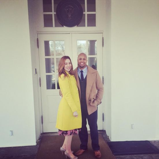 The Whites at the White House