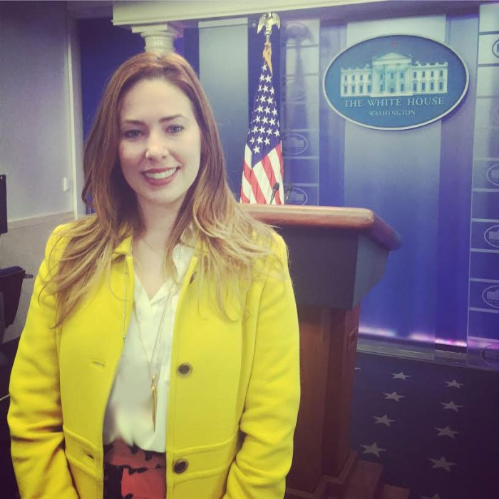 In the White House press room