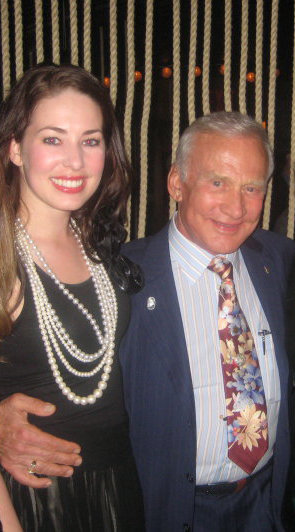 buzz aldrin and lyssa