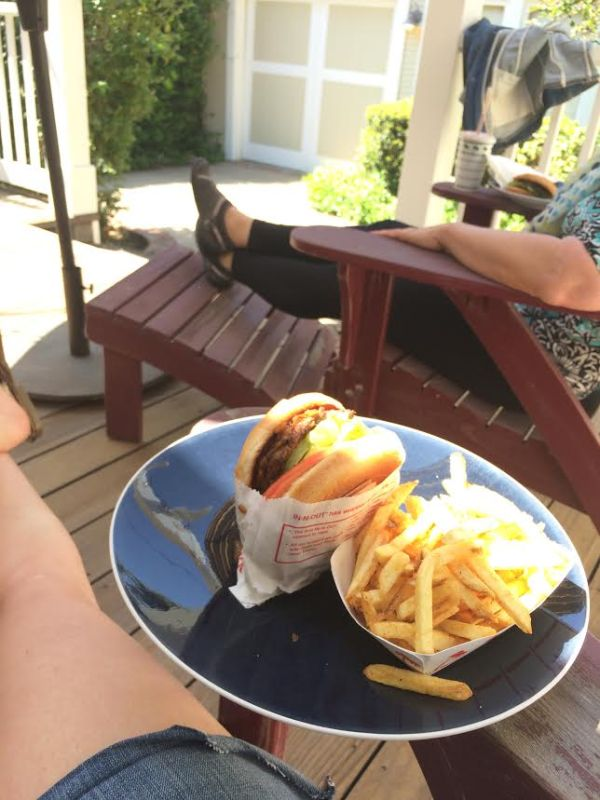 Animal Style In-N-Out Burger