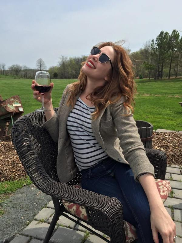 lyssa at virginia vineyard loudoun county