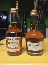 Drink Hennessy and Courvoisier